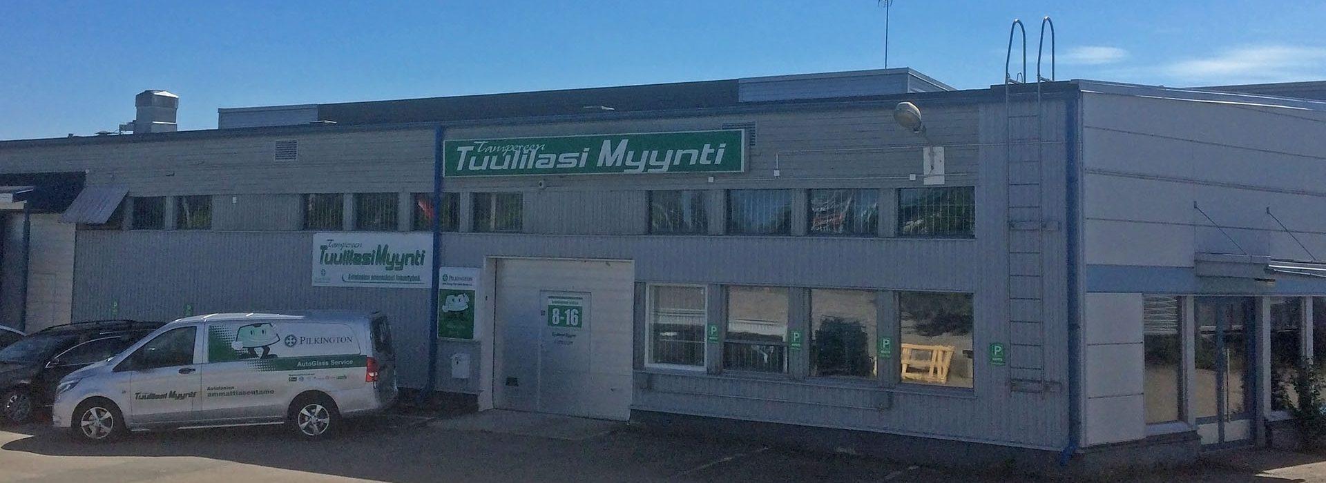 Tampereen Tuulilasimyynti - Possijärvenkatu 2, 33400 Tampere (Lielahti)